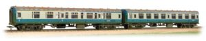"Bachmann 39-001 BR Mk1 ""Works Test Train"" Coach Pack, Blue/Grey, Weathered"